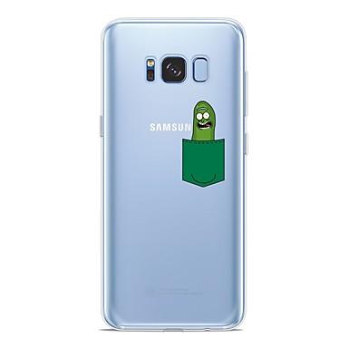 غطاء من أجل Samsung Galaxy S9 / S9 Plus / S8 Plus نموذج غطاء خلفي كارتون ناعم TPU