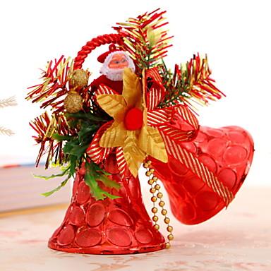 عيد الميلاد الحلي عطلة بلاستيك / PVC مربع حداثة زينة عيد الميلاد