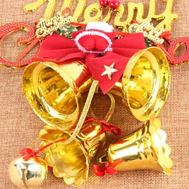 عيد الميلاد الحلي عطلة قماش / بلاستيك مربع حداثة زينة عيد الميلاد