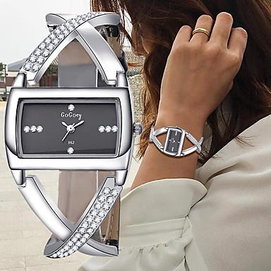 d4b4594df51 cheap Women  039 s Watches-Women  039 s Bracelet Watch Wrist. Women s  Bracelet Watch Wrist Watch Diamond Watch Quartz Leather Black ...