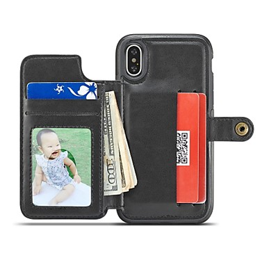 PC Porta iPhone unita iPhone 8 Per Apple X 8 Plus carte credito iPhone X 06880809 Resistente Custodia Con 8 Per Resistente di agli urti iPhone retro Tinta per supporto iPhone 4wnEBEUYx