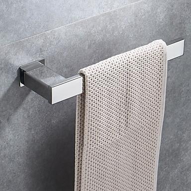قضيب المنشفة تصميم جديد / كوول معاصر الفولاذ المقاوم للصدأ / الحديد 1PC 1-منشفة بار مثبت على الحائط