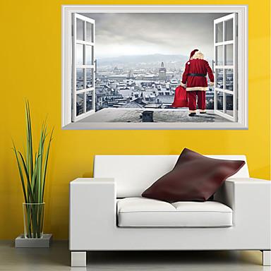 لواصق حائط مزخرفة - لواصق / الناس ملصقات الحائط حيوانات / كريستمس حضانة / غرفة الأطفال