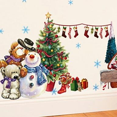 عيد الميلاد / عيد الميلاد الحلي عطلة / كرتون PVC مربع حداثة زينة عيد الميلاد