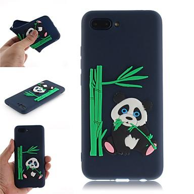 غطاء من أجل Huawei Huawei Honor 10 / Huawei Honor 9 Lite نموذج غطاء خلفي 3Dكرتون / باندا ناعم TPU
