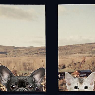 فيلم نافذة وملصقات زخرفة العادي بسيط / شخصية PVC لامعة / ملصق النافذة / القاعة / شوب / مقهى