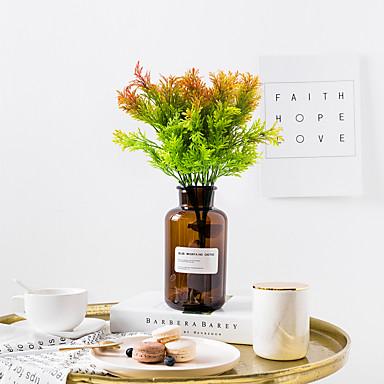 زهور اصطناعية 1 فرع كلاسيكي الحديث المعاصر النمط الرعوي نباتات أزهار الطاولة