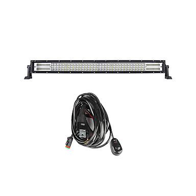 Lights Maker 1 قطعة سيارة لمبات الضوء 480 W SMD 3030 200 LED أضواء الخارج من أجل عالمي كل السنوات