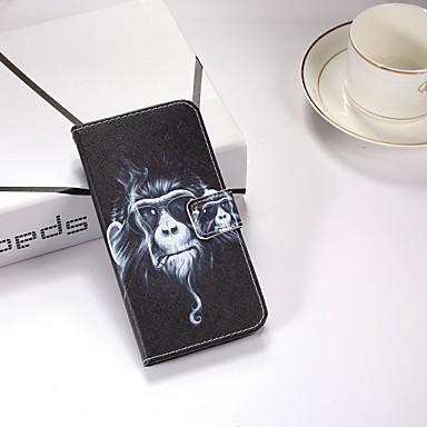 غطاء من أجل Samsung Galaxy S9 / S9 Plus / S8 Plus محفظة / مع حامل / قلب غطاء كامل للجسم حيوان قاسي جلد PU
