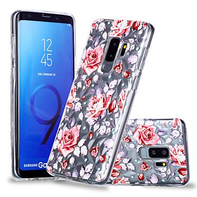 غطاء من أجل Samsung Galaxy S9 / S9 Plus / S8 Plus نموذج غطاء خلفي زهور ناعم TPU