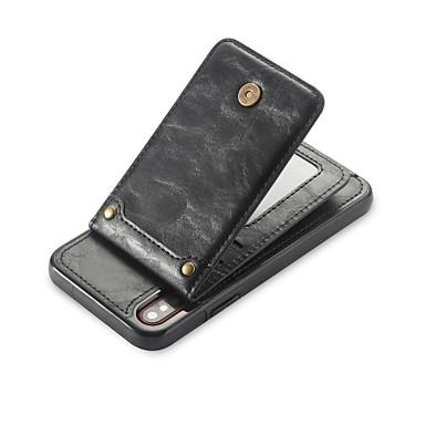 iPhone supporto di 06878797 8 Tinta iPhone iPhone X Per Porta Custodia per 8 Resistente Plus iPhone unita iPhone X carte Apple pelle Per A retro 8 portafoglio credito Con sintetica Plus q6PwE