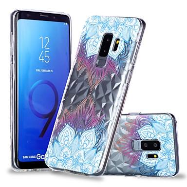 غطاء من أجل Samsung Galaxy S9 / S9 Plus / S8 Plus شفاف / نموذج غطاء خلفي ماندالا نمط ناعم TPU