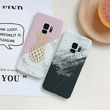 voordelige Galaxy S-serie hoesjes / covers-hoesje Voor Samsung Galaxy S9 / S9 Plus / S8 Plus Patroon Achterkant Fruit Hard PC