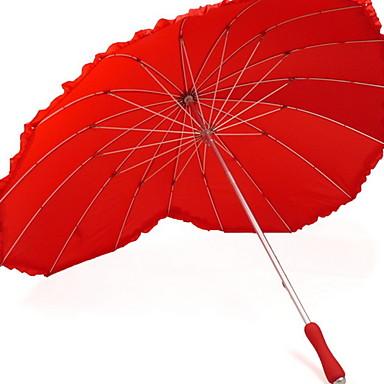 قماش للمرأة مشمس وممطر مظلة مستقيمة