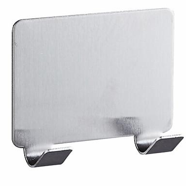 خطاف الروب تصميم جديد / كوول معاصر الفولاذ المقاوم للصدأ / الحديد 1PC مثبت على الحائط