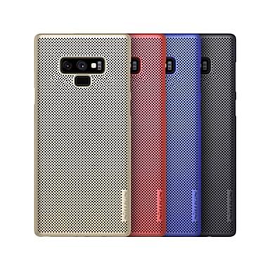 Недорогие Чехлы и кейсы для Galaxy Note-Nillkin Кейс для Назначение SSamsung Galaxy Note 9 Защита от удара / Матовое Кейс на заднюю панель Однотонный Твердый ПК для Note 9