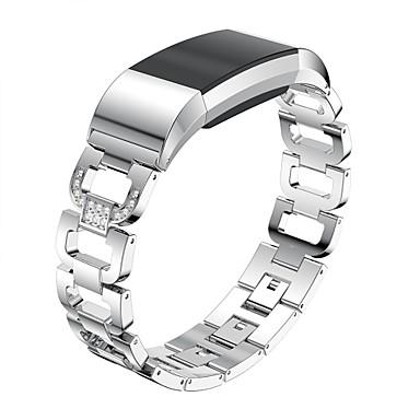 حزام إلى Fitbit Charge 2 فيتبيت عصابة الرياضة / تصميم المجوهرات ستانلس ستيل شريط المعصم