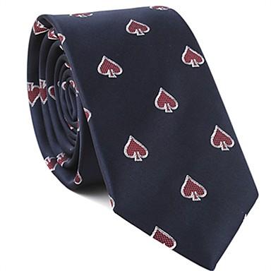 ربطة العنق طباعة / ألوان متناوبة للجنسين أساسي