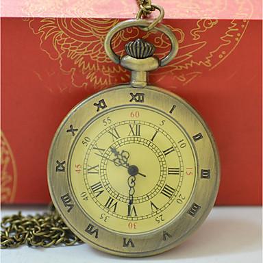 aec4daf2c Men's Women's Pocket Watch Gold Watch Quartz Gold Casual Watch Cool Analog  Casual Fashion - Gold #06903952