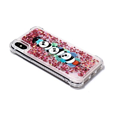 iPhone 06907854 per Custodia X iPhone Plus iPhone iPhone X Porta Plus Panda carte retro di Per 8 credito Resistente 8 iPhone portafoglio 8 supporto Con A Per TPU Apple qqtR1xrwf