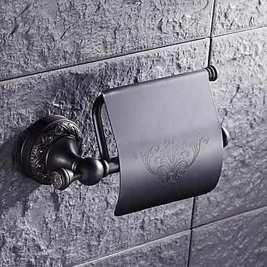 رف الحمام تصميم جديد / كوول الحديث نحاس 1PC حمالة ورق تواليت مثبت على الحائط