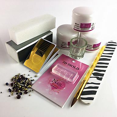 Kit Acrilic Pentru Unghie Durabil nail art pedichiura si manichiura Simplu Zilnic