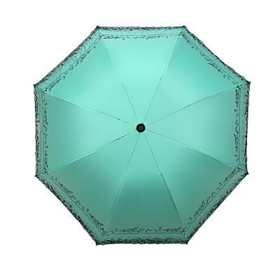 محبوكة الجميع مشمس وممطر مظلة ملطية