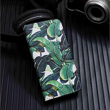 voordelige Galaxy J-serie hoesjes / covers-hoesje Voor Samsung Galaxy J8 (2018) / J6 (2018) / J6 Plus Portemonnee / Kaarthouder / met standaard Volledig hoesje Boom Hard PU-nahka