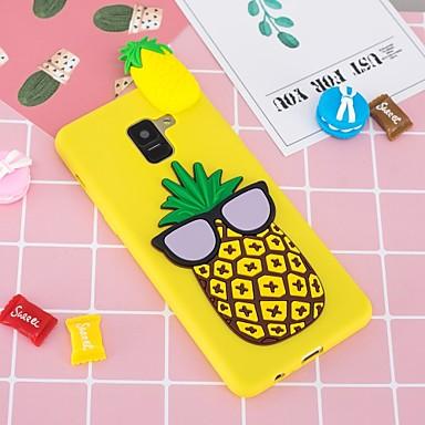 voordelige Galaxy A-serie hoesjes / covers-hoesje Voor Samsung Galaxy A5(2018) / A6 (2018) / A6+ (2018) Patroon / DHZ Achterkant Fruit Zacht TPU