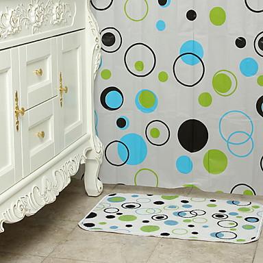ستائر الدش الحديث PVC مصنوع بالماكينة تصميم جديد / كوول حمام