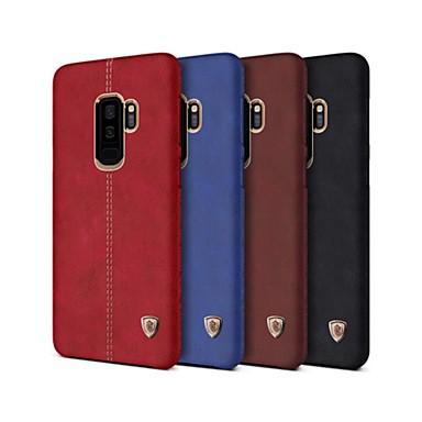 Недорогие Чехлы и кейсы для Galaxy Note-Nillkin Кейс для Назначение SSamsung Galaxy Note 9 Защита от удара Кейс на заднюю панель Однотонный Твердый Кожа PU для Note 9