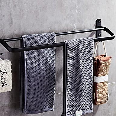 قضيب المنشفة تصميم جديد / كوول الحديث الفولاذ المقاوم للصدأ / الحديد 1PC مزدوج مثبت على الحائط