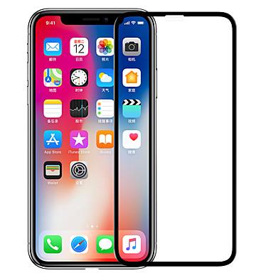 voordelige iPhone screenprotectors-nillkin screen protector voor apple iphone xs gehard glas 1 stuk full body screen protector hoge definitie (hd) / 9h hardheid / explosiebestendig