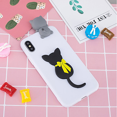 غطاء من أجل Apple iPhone XS / iPhone XR / iPhone XS Max نموذج / اصنع بنفسك غطاء خلفي قطة ناعم TPU