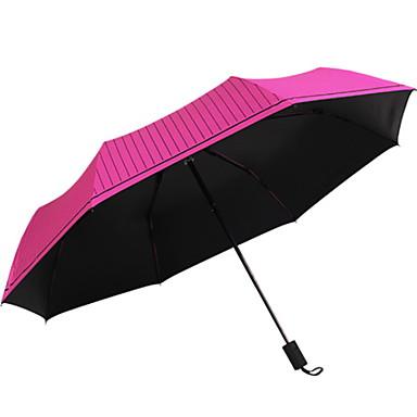 البوليستر الجميع مشمس وممطر مظلة ملطية