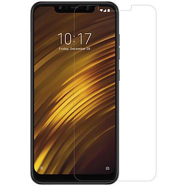billige Skærmbeskyttelse til Xiaomi-nillkin skærmbeskytter til xiaomi xiaomi pocophone f1 hærdet glas / kæledyr 1 stk front& Kameralinsbeskytter højdefinition (hd) / 9h hårdhed / 2,5d buet kant