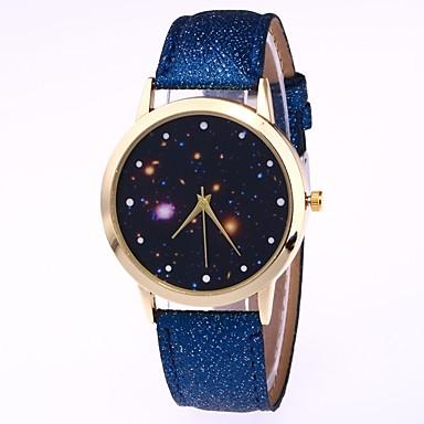 رجالي نسائي ساعة المعصم ساعة رقمية كوارتز جلد أسود / الأبيض / أزرق ساعة كاجوال محبوب مماثل كاجوال موضة - أحمر أزرق زهري