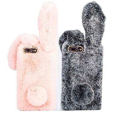 voordelige iPhone 6 hoesjes-hoesje Voor Apple iPhone XS / iPhone XR / iPhone XS Max Schokbestendig Achterkant dier Hard tekstiili