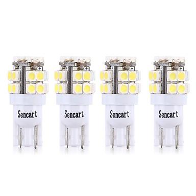 voordelige Motorverlichting-SENCART 4pcs T10 / BA9S Motor / Automatisch Lampen 3 W SMD 2835 160 lm 20 LED Richtingaanwijzerlicht / Motor / Interior Lights Voor