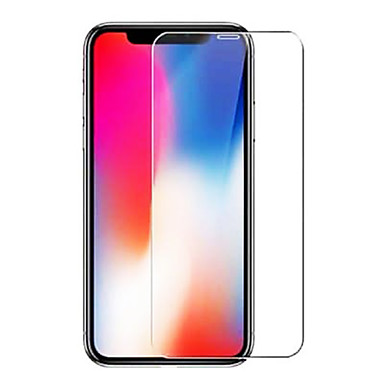 voordelige iPhone X screenprotectors-AppleScreen ProtectoriPhone XS High-Definition (HD) Voorkant screenprotector 1 stuks Gehard Glas