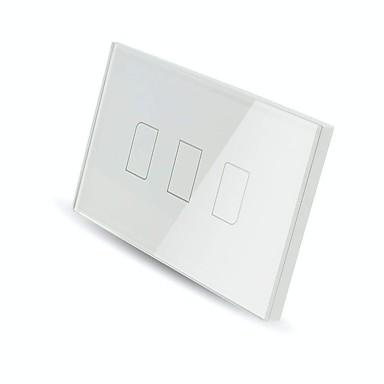 BroadLink Smart Switch TC2 3gang-US voor Woonkamer / Studie / Slaapkamer APP Control / WIFI Control / intelligent 110-150 V