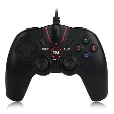 olcso Videojáték tartozékok-Vezetékes Joystick vezérlő fogantyú Kompatibilitás Android / PC ,  Menő Joystick vezérlő fogantyú ABS 1 pcs egység