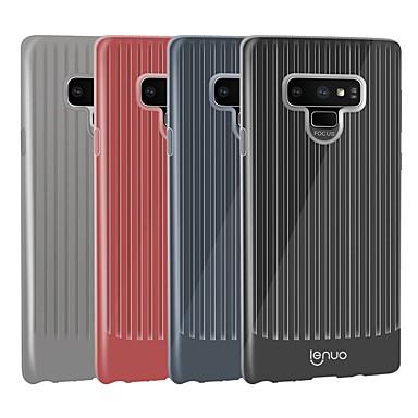 Недорогие Чехлы и кейсы для Galaxy Note-Lenuo Кейс для Назначение SSamsung Galaxy Note 9 Защита от удара / Ультратонкий Кейс на заднюю панель Полосы / волосы Мягкий ТПУ для Note 9