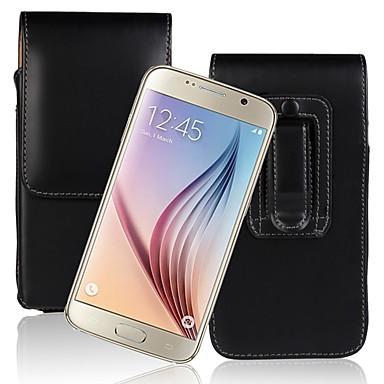 voordelige Galaxy S-serie hoesjes / covers-hoesje Voor Samsung Galaxy S9 / S9 Plus / S8 Plus Flip Volledig hoesje Effen Hard PU-nahka
