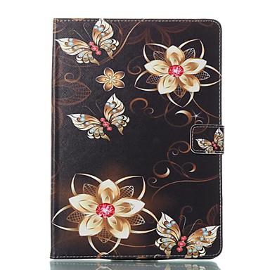 Case For Apple iPad (2018) / iPad Pro 11'' / iPad 4/3/2 Card Holder / with Stand / Flip Full Body Cases Butterfly / Flower Hard PU Leather for iPad Air / iPad 4/3/2 / iPad Mini 3/2/1