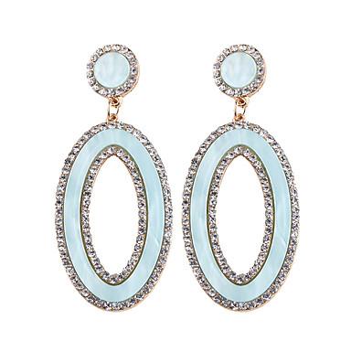 bb3b7095ca0b abordables Pendientes-Mujer Circonita Pendientes colgantes Brillante Aretes  damas Moda Elegante De Gran Tamaño Joyas