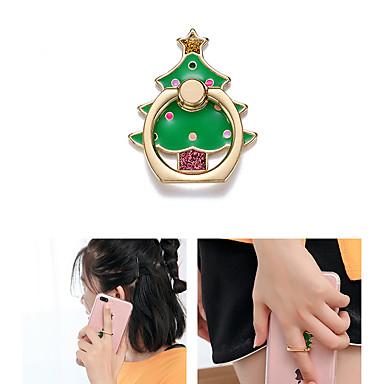 Desk Mount Stand Holder Christmas Santa Claus Phone Holder Adjustable / 360°Rotation Metal Holder