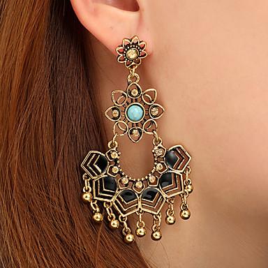 da5a3a4dc cheap Earrings-Women's Turquoise Vintage Style Drop Earrings Earrings  Ladies Artistic