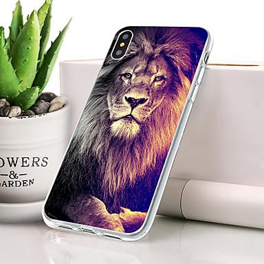 케이스 제품 Apple iPhone XS 방진 / 울트라 씬 / 패턴 뒷면 커버 동물 소프트 TPU 용 iPhone XS