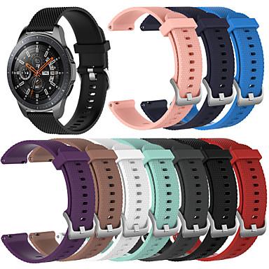 voordelige Horlogebandjes voor Samsung-Horlogeband voor Gear S3 Frontier / Gear S3 Classic / Gear 2 R380 Samsung Galaxy Sportband Silicone Polsband